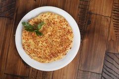 Khachapuri - tradycyjny georgian kulebiak Fotografia Stock