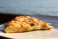 Khachapuri Stock Photo