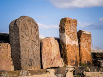 Khachkars Royalty Free Stock Photo