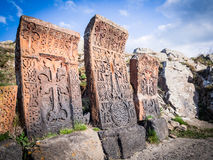 Khachkars Royalty Free Stock Images