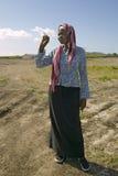 Khadija Rama, fondatrice de programme de rééducation de Pepo La Tumaini Jangwani, de la Communauté de HIV/SIDA, d'orphelinat et d images libres de droits