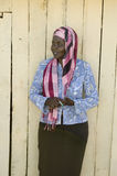 Khadija Rama, fondatrice de programme de rééducation de Pepo La Tumaini Jangwani, de la Communauté de HIV/SIDA, d'orphelinat et d photo libre de droits