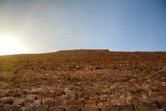 Khafre金字塔在吉萨棉,埃及 免版税库存照片