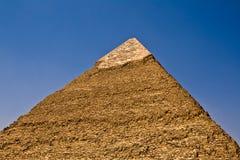 khafre金字塔s 库存照片