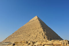 Khafre pyramid Royalty Free Stock Image