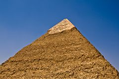 Khafre's Pyramid Stock Photo