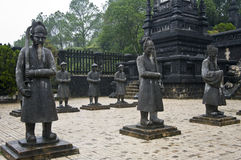 Khai Dinh皇帝陵墓。 颜色,越南。 图库摄影