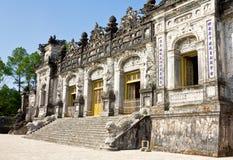 Khai Dinh Tomb royaltyfri fotografi