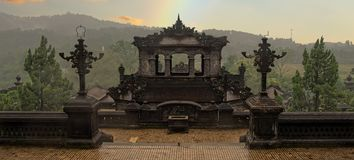 Khai dinh tomb in hue vietnam Royalty Free Stock Image