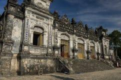 Khai Dinh Tomb impérial en Hue images libres de droits