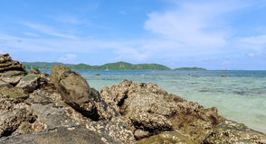 Khai Island in Phang Nga Bay, Thailand Royalty Free Stock Photography