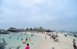 KHAI NOK海岛,泰国 库存图片