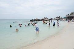 KHAI-NOK-Ö, THAILAND Arkivfoto