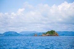 Khai nui wyspa w morzu, Phuket, Tajlandia Obraz Stock