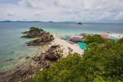 Khai nui wyspa w morzu, Phuket, Tajlandia Zdjęcia Royalty Free
