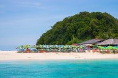 Khai nui wyspa w morzu, Phuket, Tajlandia Zdjęcie Stock