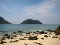 Khai wyspa (Kho Khai) zdjęcie royalty free