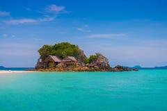 Khai wyspa w morzu Zdjęcie Royalty Free