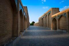 Khaju-Brücke in Isfahan iran Lizenzfreies Stockfoto