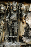 Khajuraho雕塑  库存照片
