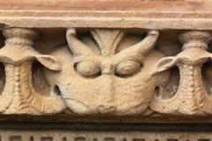 Khajuraho świątynie i ich erotyczne rzeźby, India Obrazy Stock
