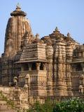 Khajuraho - ναός Kandariya Mahadev - Ινδία Στοκ Εικόνα