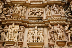 khajuraho της Ινδίας Στοκ Φωτογραφίες