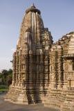 khajuraho της Ινδίας Στοκ Εικόνες