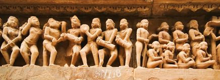 Khajuraho art Stock Photo