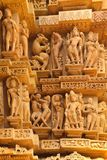 Khajuraho art Royalty Free Stock Photo
