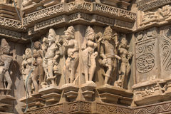 Khajuraho figurines Stock Image