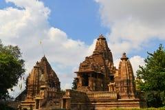 Khajuraho Hindu and Jain temples, India Royalty Free Stock Photography