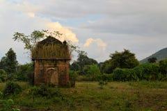 Khajuraho Hinduskie i Jain świątynie, India obrazy royalty free