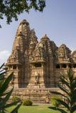 Khajuraho - Indien Arkivfoto