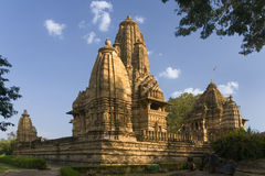 Khajuraho - Madhya Pradesh - Indien. arkivbild