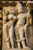 Khajuraho - Madhya Pradesh - Indien Arkivfoto