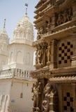 khajuraho parshwanath寺庙 免版税库存照片