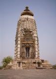 khajuraho parvati寺庙 图库摄影