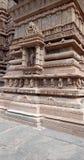 Khajuraho Tempel stockbilder