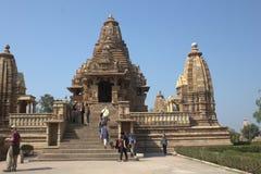 Khajuraho Tempel Lizenzfreie Stockfotografie