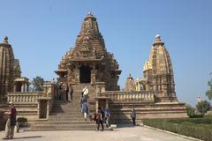 Khajuraho Temple Royalty Free Stock Photography