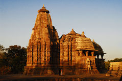 Khajuraho Temple Royalty Free Stock Image