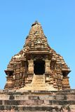 Khajuraho temples and their erotic sculptures, India Stock Photography