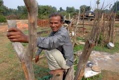 khajuraho wiosek ludzie Zdjęcie Royalty Free