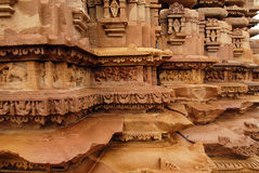 Khajuraho - World Heritage Site of India Stock Images