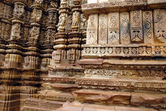 Khajuraho - World Heritage Site of India Stock Photography