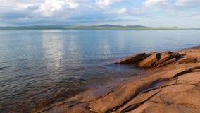 Khakasiya - Lake Shira stock footage