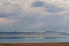 Khakass lake Belyo Royalty Free Stock Photos