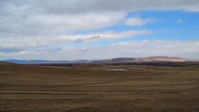 Khakassia Paesaggi della primavera Fotografia Stock Libera da Diritti