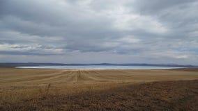 Khakassia Paysages de ressort Images stock